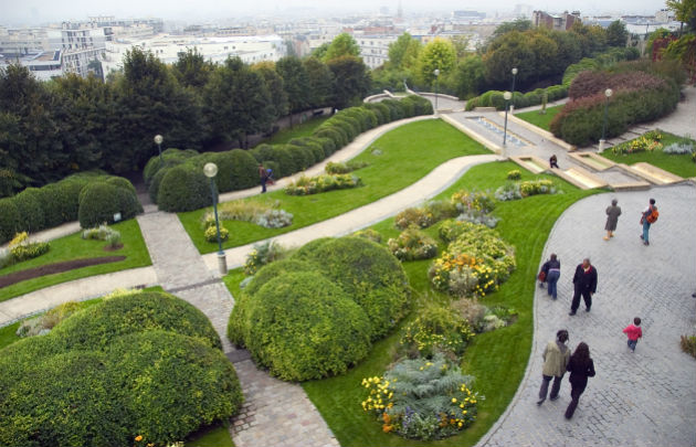 Jardin Belleville