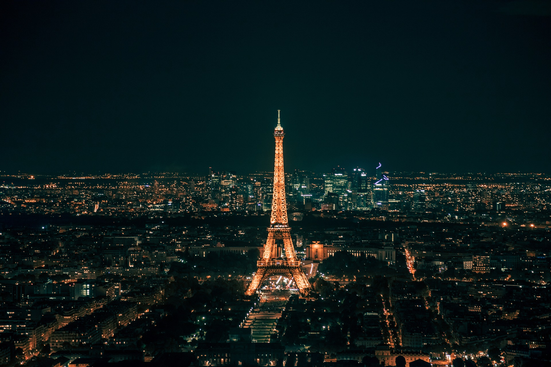 Tour Eiffel & Paris by night